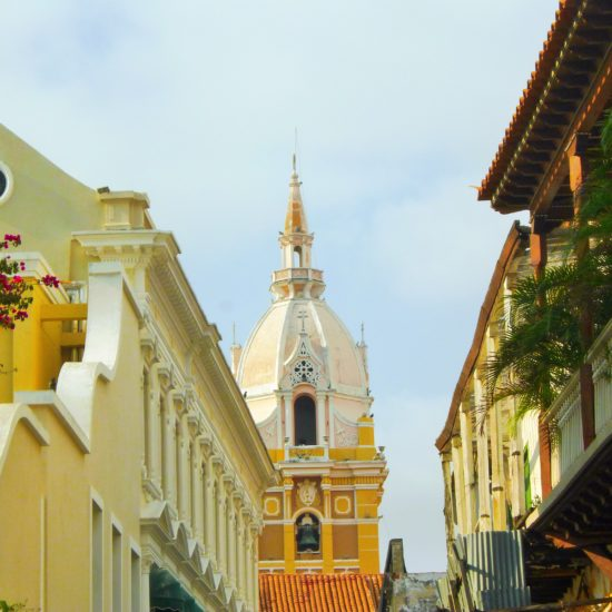 colombie carthagene cathédrale architecture