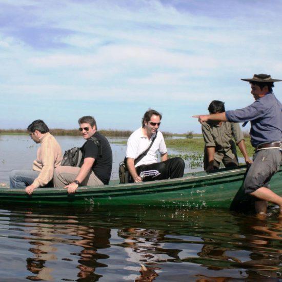 argentine estancia esteros del ibera nature corrientes barque balade excursion réserve eau douce