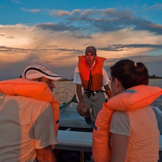 argentine estancia esteros del ibera nature corrientes lac réserve eau douce barque excursion