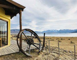 argentine patagonie estancia calafate roue charette gauchos paysage nature immersion lac montagne