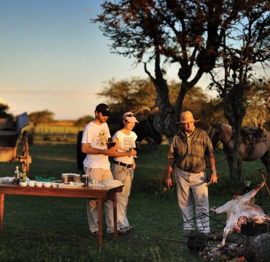 argentine esteros del ibera grillade barbecue corrientes estancia