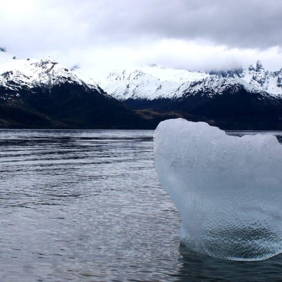 argentine patagonie glacier el aguila montagne lac nature fjord