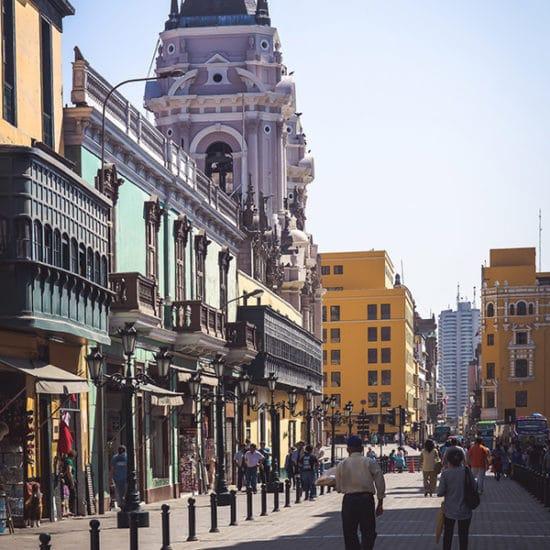 pérou lima capitale cathédrale