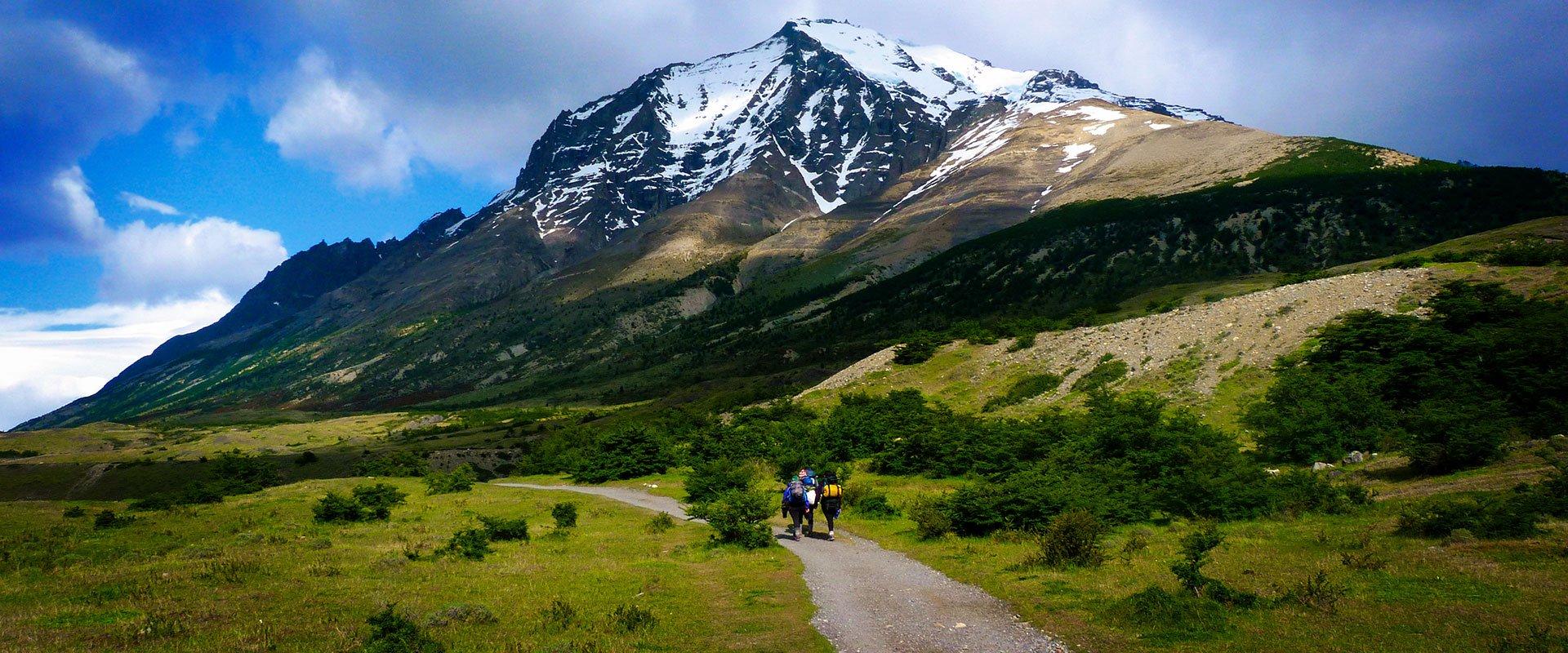 Chili montagne torres del paine trekking randonnée