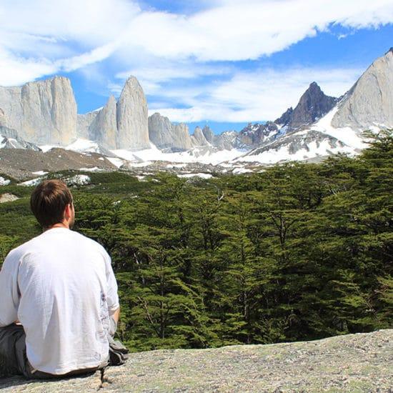 Chili torres del paine patagonie montagne forêt