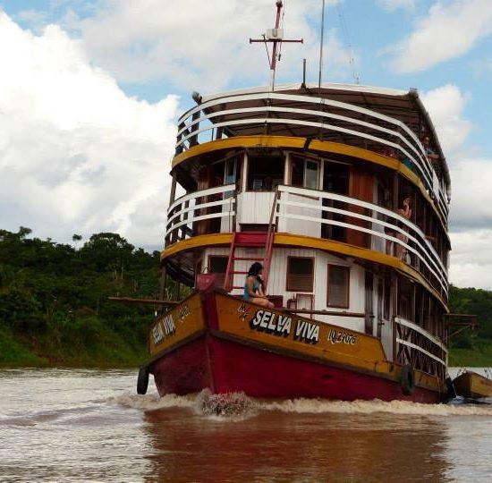 pérou iquitos forêt amazonienne amazone bateau selva