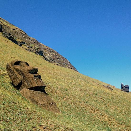 Chili Ile de Paques statue moaï