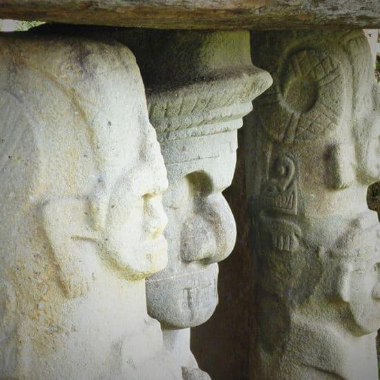 colombie parc archéologique san agustin vestige art culture sculpture précolombien