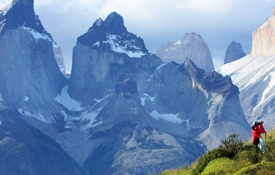Chili torres del paine patagonie montagne cuernos randonnée