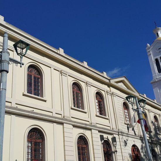 colombie bogota église architecture coloniale