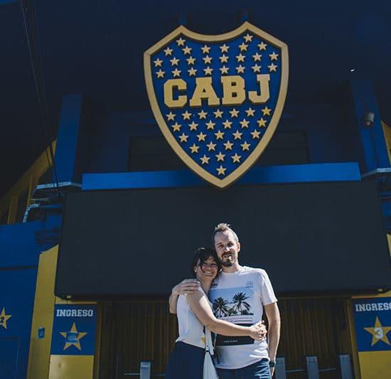argentine buenos aires irys souvenirs photo expérience unique photographe professionnel football cabj boca juniors