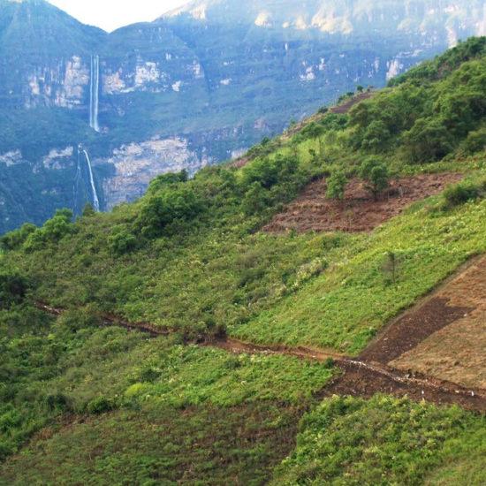 pérou chachapoyas montagne
