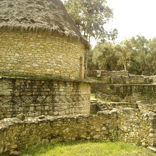 pérou chachapoyas maison ruines vestiges