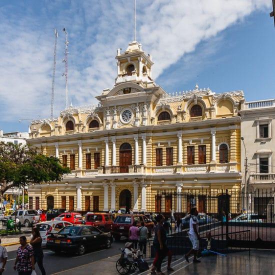pérou chiclayo architecture coloniale