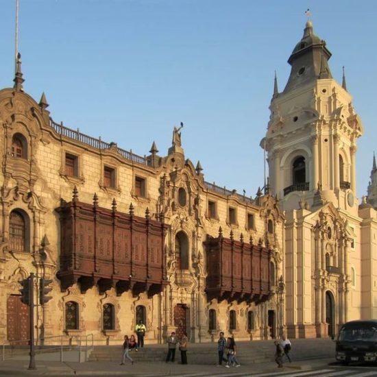 pérou lima cathédrale