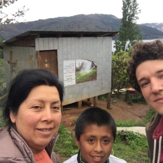Chili mapuche hôte immersion habitant indigène