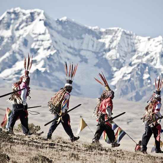 pérou peuple habitants Qoylloriti pelerinage neige