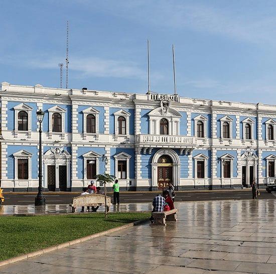 pérou architecture coloniale