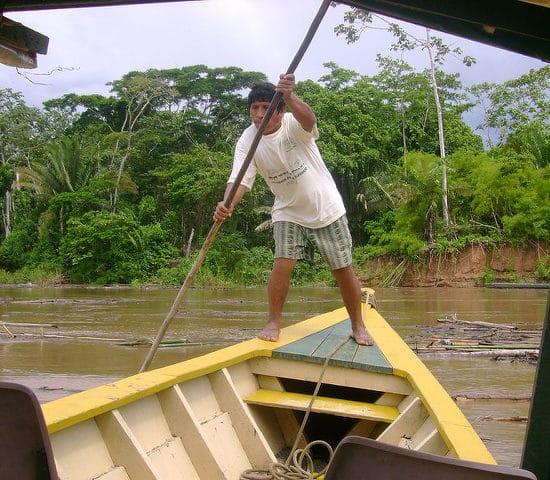 pérou puerto maldonado amazonie fleuve bateau