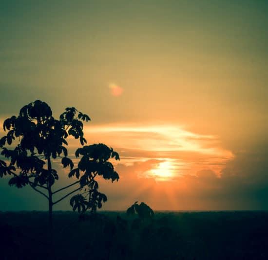 pérou puerto maldonado coucher de soleil sunset