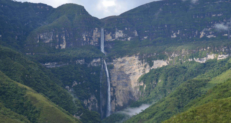 voyage chachapoyas pérou cascade