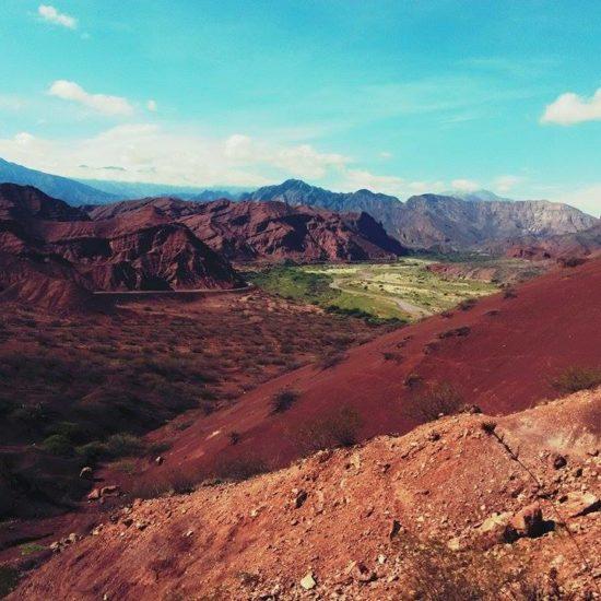 argentine cafayate nord ouest argentin quebrada conchas salta montagne sauvage aride spectaculaire