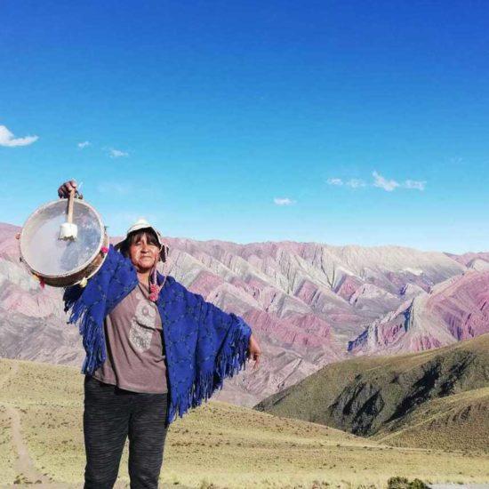 argentine nord ouest argentin serrania hornocal guide communauté andine habitant natif trek randonnée jujuy salta humahuaca tradition