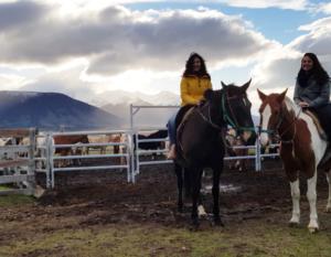 Tierra Latina Voyage Famille Mère/fille cheval Patagonie El Calafate