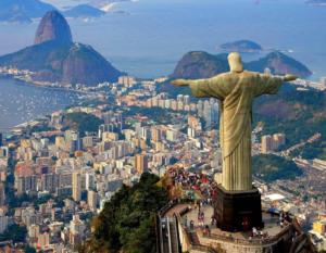 Bresil Rio de Janeiro christ rédempteur corcovado panorama