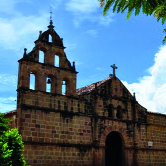 colombie barichara église
