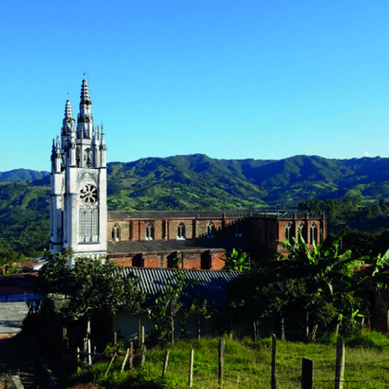 colombie jerico cathédrale