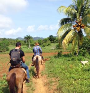 Promenade à cheval Cuba