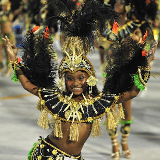 Bresil Rio de Janeiro Carnaval samba fête