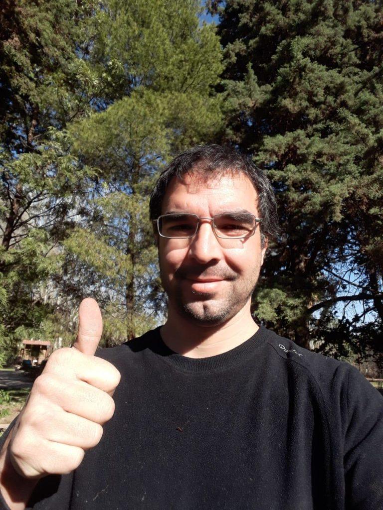 Nacho guide local Mendoza Argentine