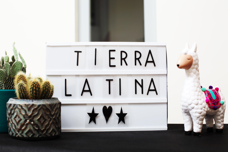 message anniversaire tierra latina