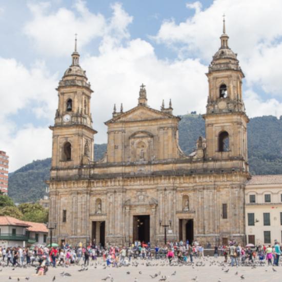colombie bogota cathédrale primada architecture