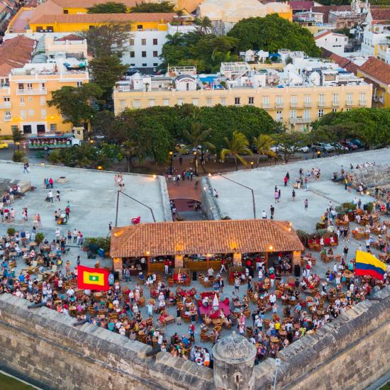 colombie carthagene fête populaire remparts