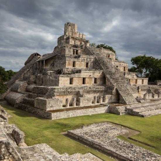 TierraLatina-Mexique-Calakmul-Pyramide-Campeche-Jungle-Biosphère-Maya