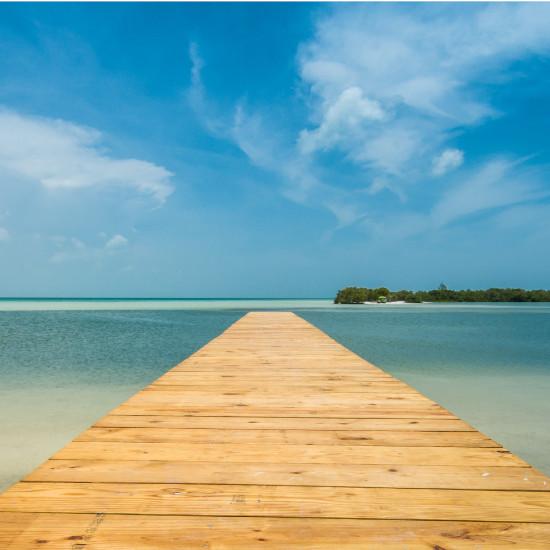TierraLatina-Mexique-Holbox-île-ponton-eaux-turquoises