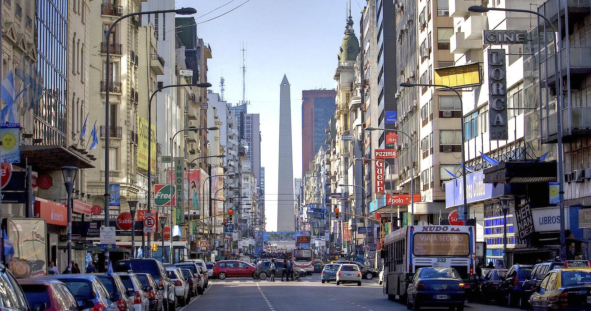 Tierra Latina Buenos Aires accessible obelisque