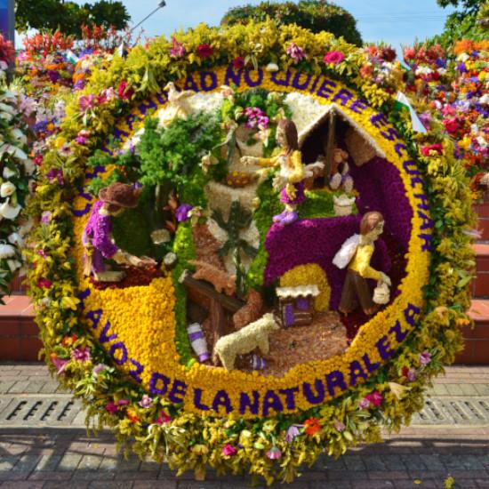 Voyage Tierra Latina Colombie Medellin Feria de las Flores