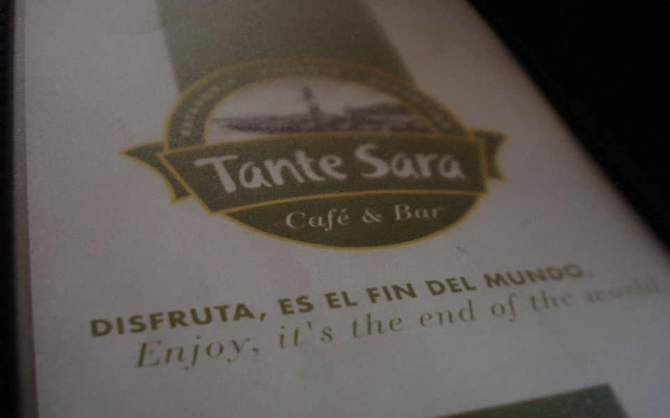 Restaurant Ushuaia Tante Sara