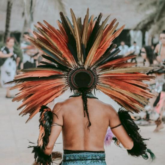 chez l'habitant communaute maya